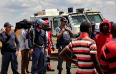 Police fire rubber bullets and teargas at protesting Bekkersdal residents