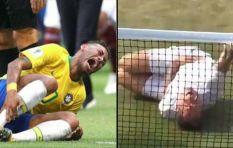 [WATCH] #NeymarChallenge reaches Wimbledon in legends doubles match