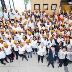 YES beneficiaries work in South African clinics to fight HIV/Aids