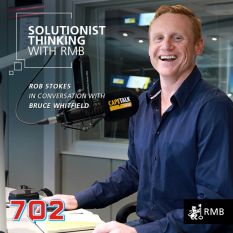 Solutionist Thinking: In Conversation with Rob Stokes