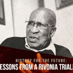 Rivonia Trialist, Andrew Mlangeni: More than just a 'backroom boy'