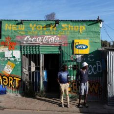 Zande provides credit via phone to spazas in the form of the goods they sell