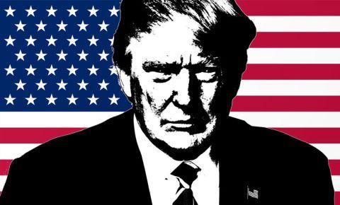 Donald Trump USA America flag Star-Spangled Banner 123rf 123rfworld
