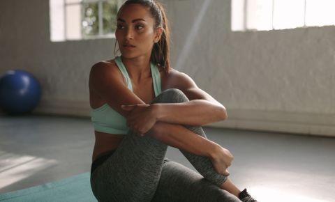 Woman gym fitness training 123rflifestyle 123rf