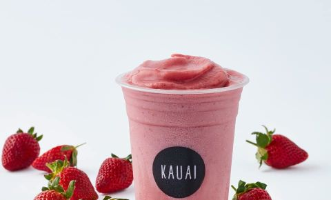 Kauai strawberry smoothie