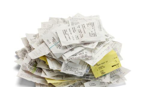 Receipts expenses till slips tax 123rf 123rfbusiness 123rflifestyle