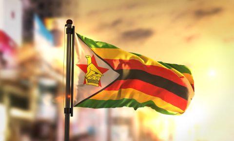 Zimbabwe flag 123rf
