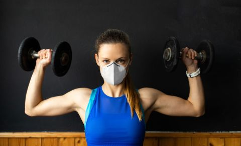 Gym fitness n95 mask 123rf 123rfbusinss 123rflifestyle