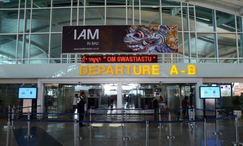 Departure gate of Ngurah Rai International Airport Bali Indonesia 123rf