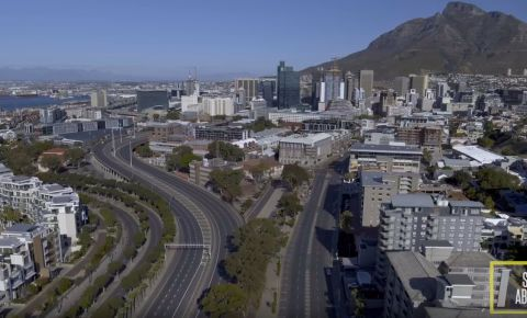 Cape Town CBD during lockdown Step Above