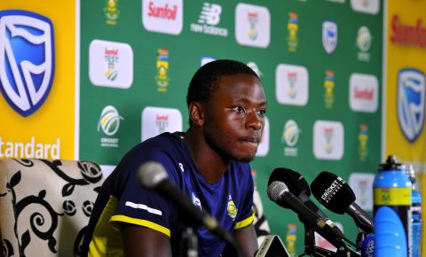 Proteas bowler Kagiso Rabada will be available to play again
