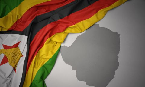 Zimbabwe map flag 123rfpolitics 123rf