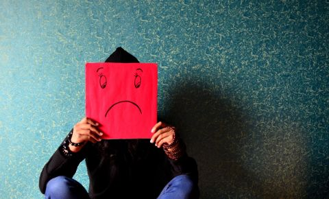 Depression psychology sad emotions