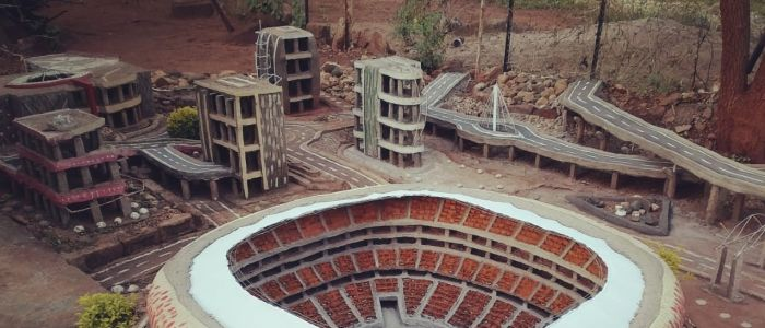 nego-negondeni-built-a-replica-of-the-fnb-stadium-out-of-recyclable-waste-materials-in-limpopojpg