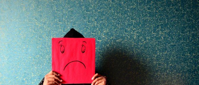 Depression psychology sad emotions