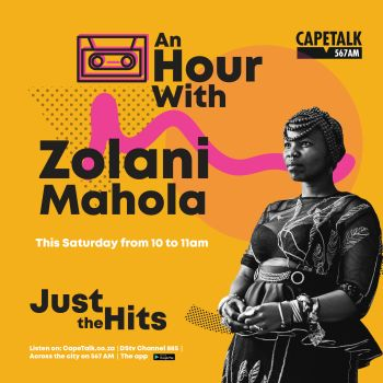 Just the Hits Zolani Mahola 8 August 2020