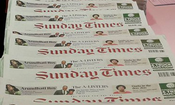 Sunday Times asked to return journalism award for tainted 'death squad' stories