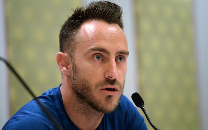 FILE: Faf du Plessis. Picture: AFP.