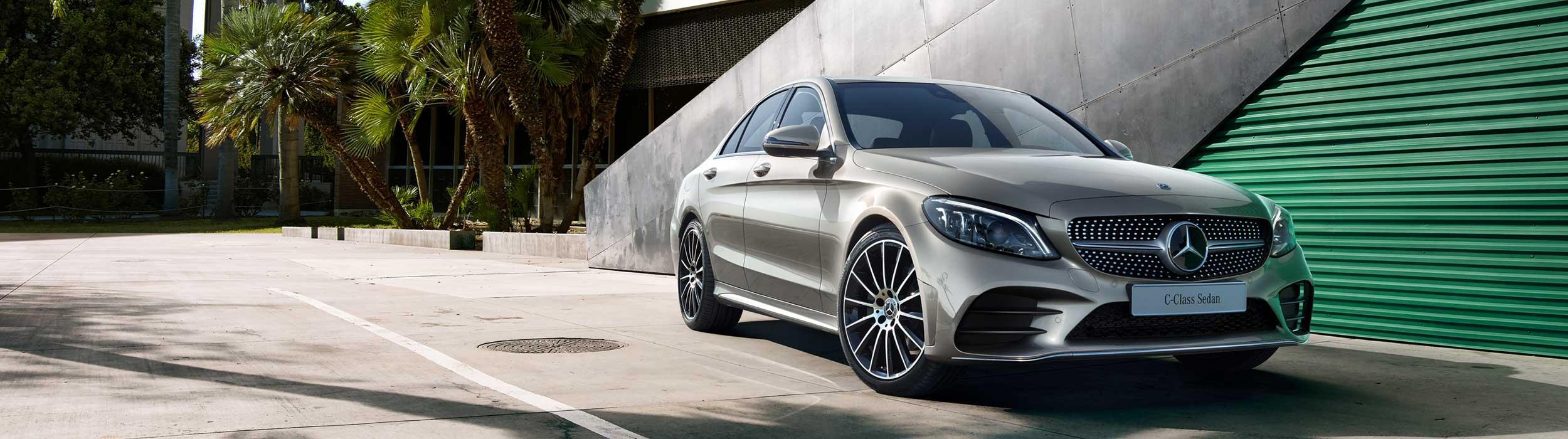 The new Mercedes Benz C-Class