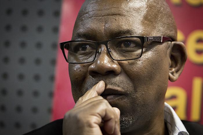 FILE: Cosatu general secretary Bheki Ntshalintshali. Picture: Sethembiso Zulu/EWN